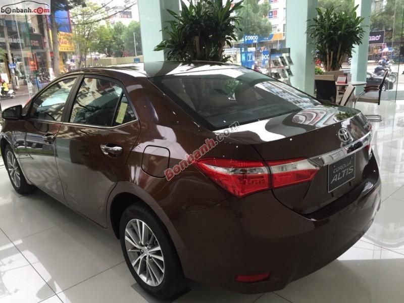 Xe Toyota Corolla altis 1.8G MT 2015