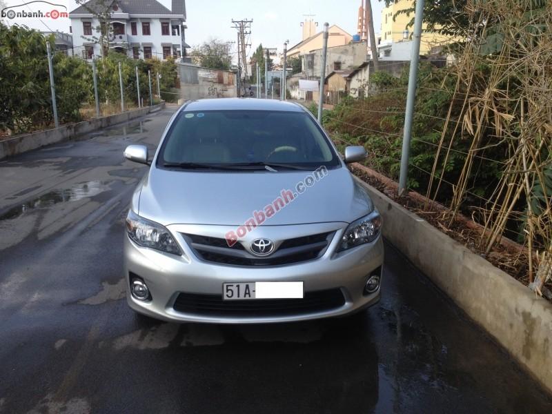 Xe Toyota Corolla altis 2.0AT 2012