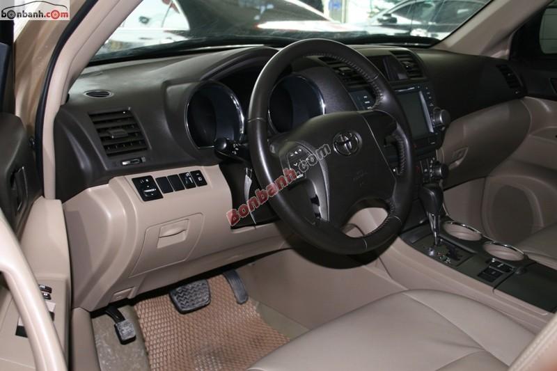 Xe Toyota Highlander  2009