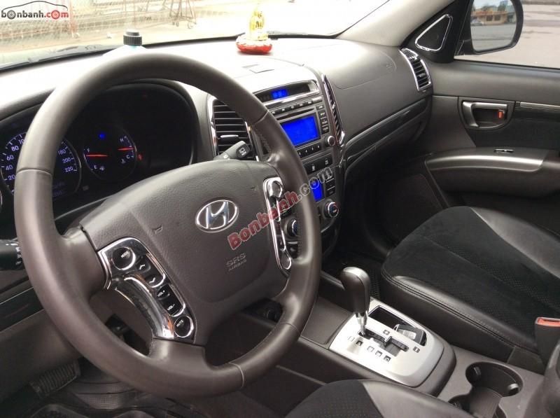 Xe Hyundai Santa Fe slx 2009
