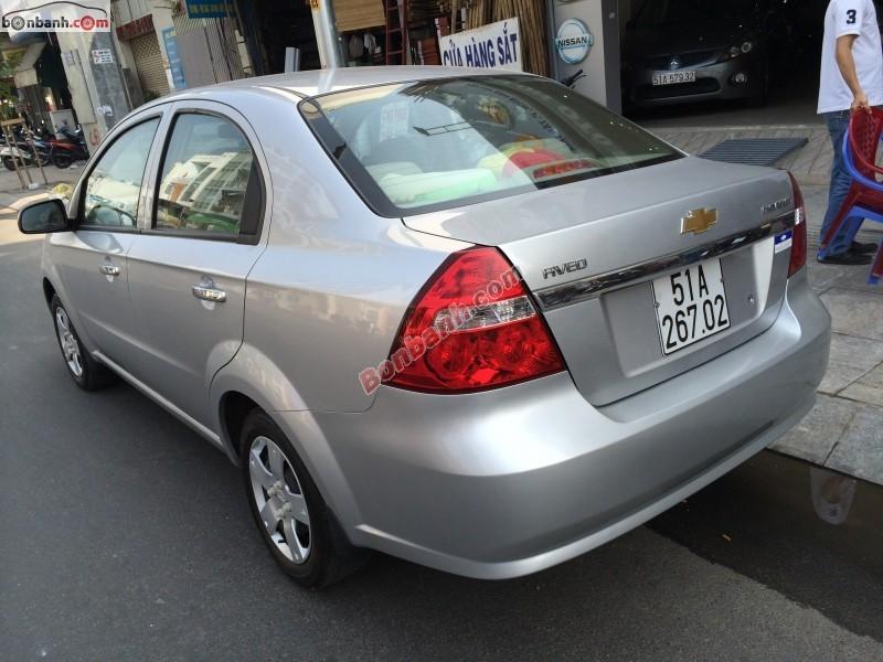 Xe Chevrolet Aveo 1.5MT 2011