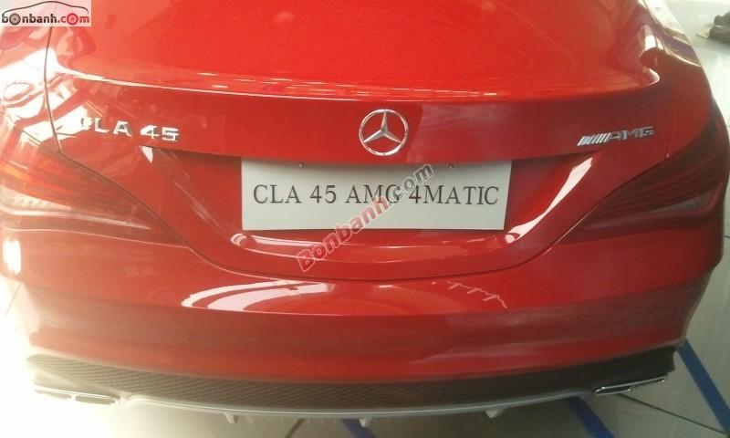 Xe Mercedes-Benz CLA class 45 AMG 2015