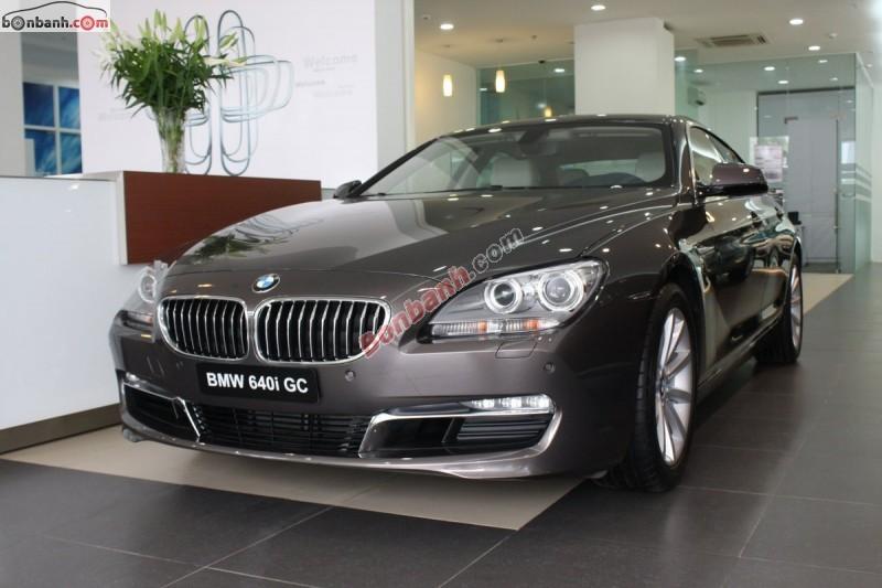 Xe BMW 6 Series 640i GC 2015