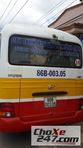 Xe Thaco HYUNDAI County 2012