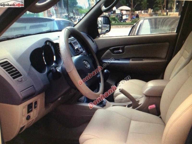 Xe Toyota Fortuner Bán     cũ tại TP HCM 2011