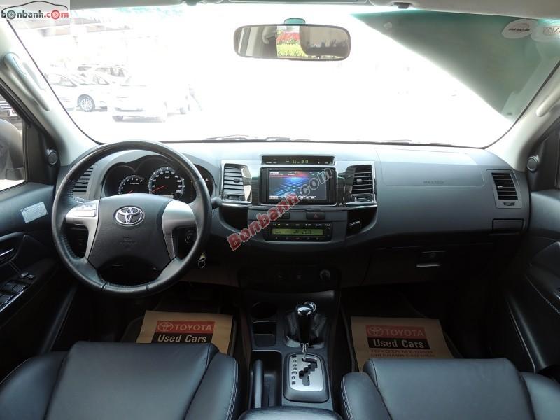 Xe Toyota Fortuner Bán    V-TRD  cũ tại Hà Nội 2014