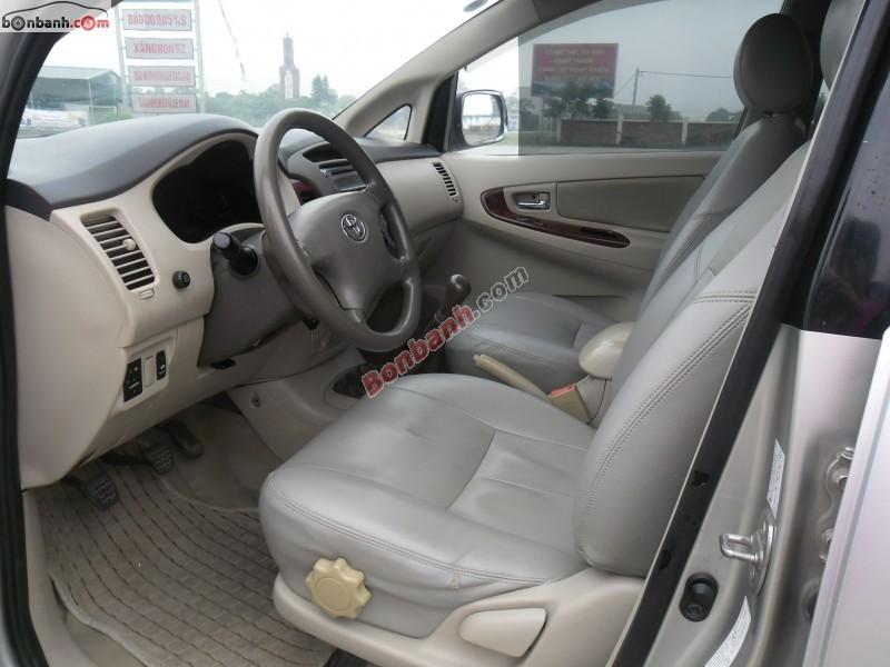 Xe Toyota Innova Bán    G  cũ tại TP HCM 2006