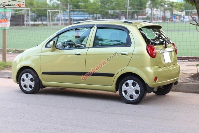 Xe Chevrolet Spark Bán     cũ tại Hà Nội 2009