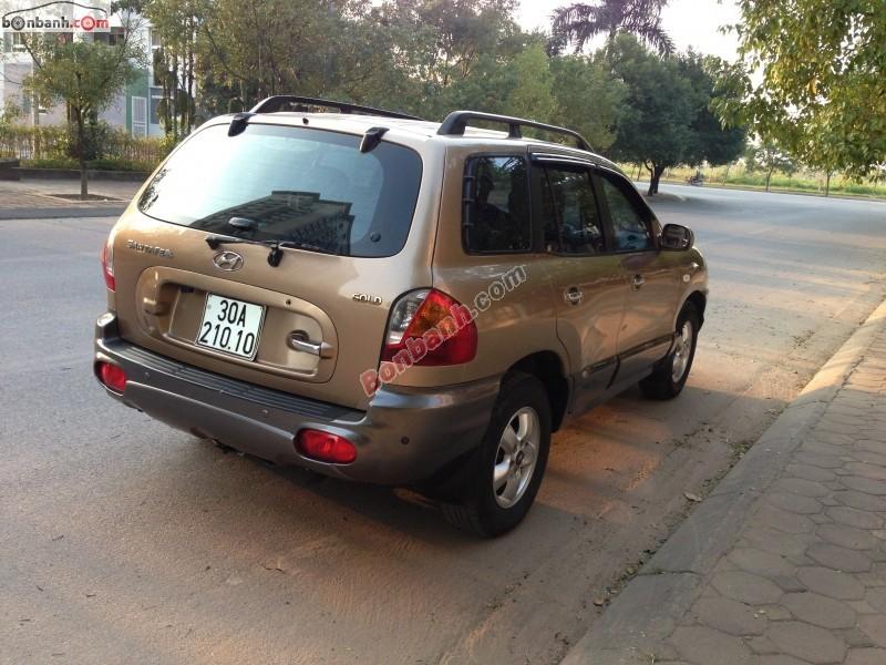 Xe Hyundai Santa Fe Bán    Gold  cũ tại Hà Nội 2004