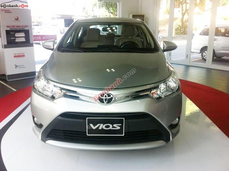 Xe Toyota Vios Bán    1.5 E  mới tại TP HCM 2014