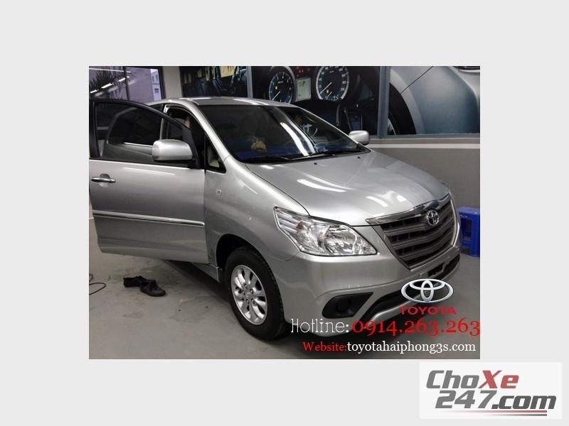 Xe Toyota Innova thế hệ mới nhất ! Giá hấp dẫn nhất tại  Hải Phòng 2014