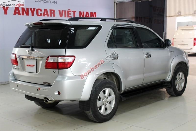 Xe Toyota Fortuner Bán    V  cũ tại Hà Nội 2009