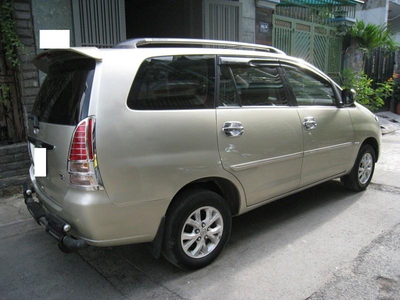 Xe Toyota Innova Bán    G  cũ tại TP HCM 2008