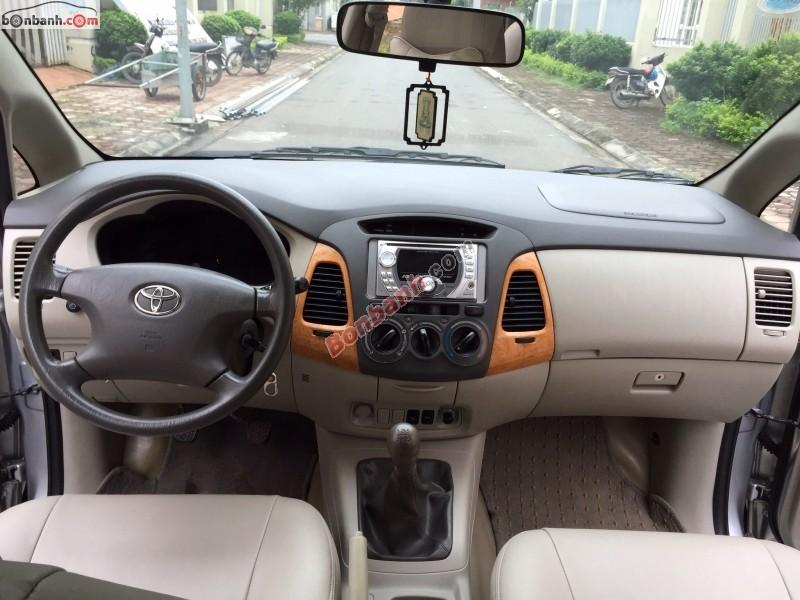 Xe Toyota Innova Bán    G  cũ tại Hà Nội 2009