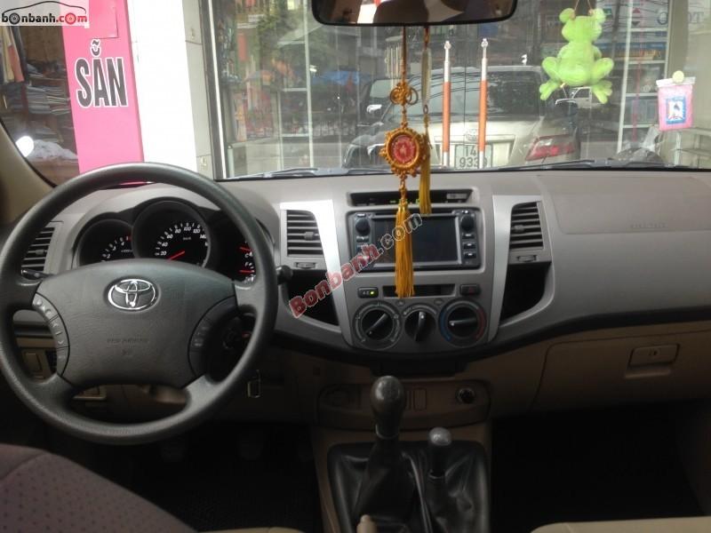 Xe Toyota Hilux Bán    3.0  cũ tại Quảng Ninh 2011