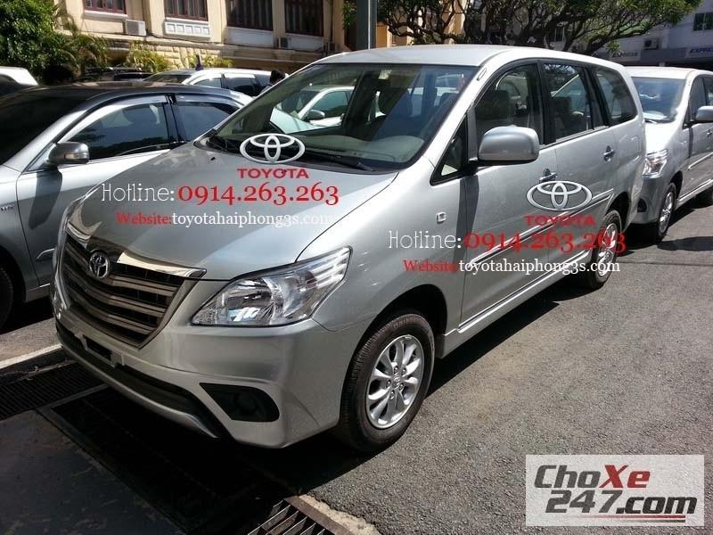 Xe Toyota Innova kiểu dáng mới, giá tốt nhất tại  Hải Phòng. 2014