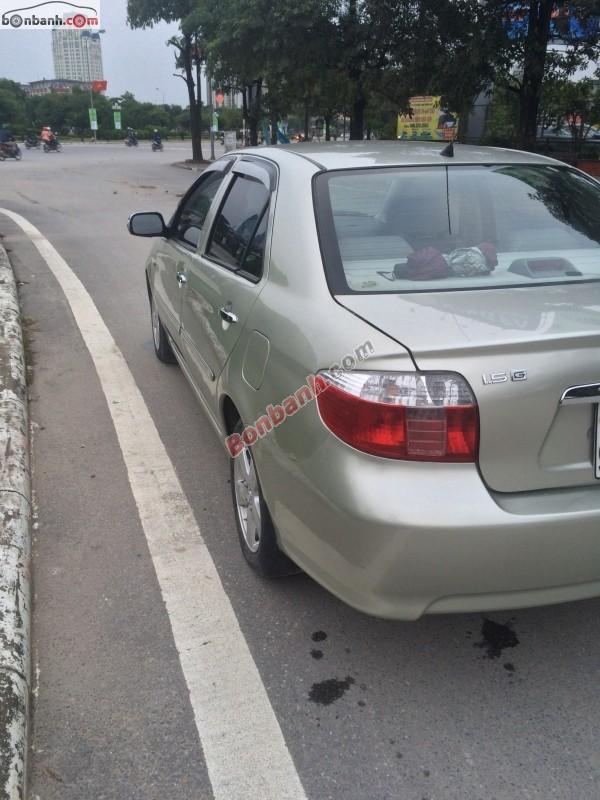Xe Toyota Vios Bán    1.5G  cũ tại Hà Nội 2007