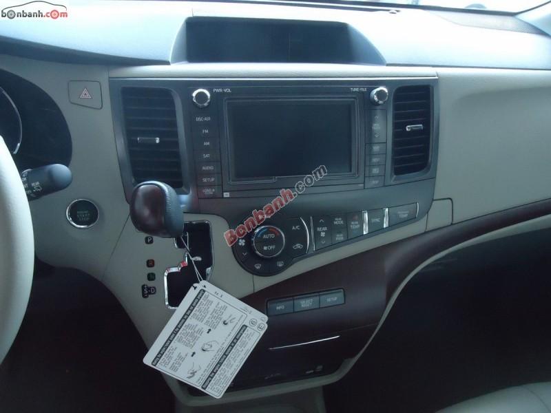 Xe Toyota Sienna Bán    Limited  mới tại TP HCM 2013