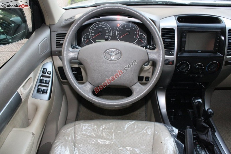 Xe Toyota Land Cruiser Bán   Prado GX 2.7  cũ tại Hà Nội 2007
