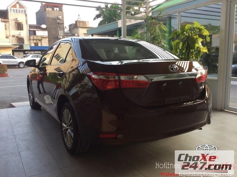 Xe Toyota Corolla altis  2015