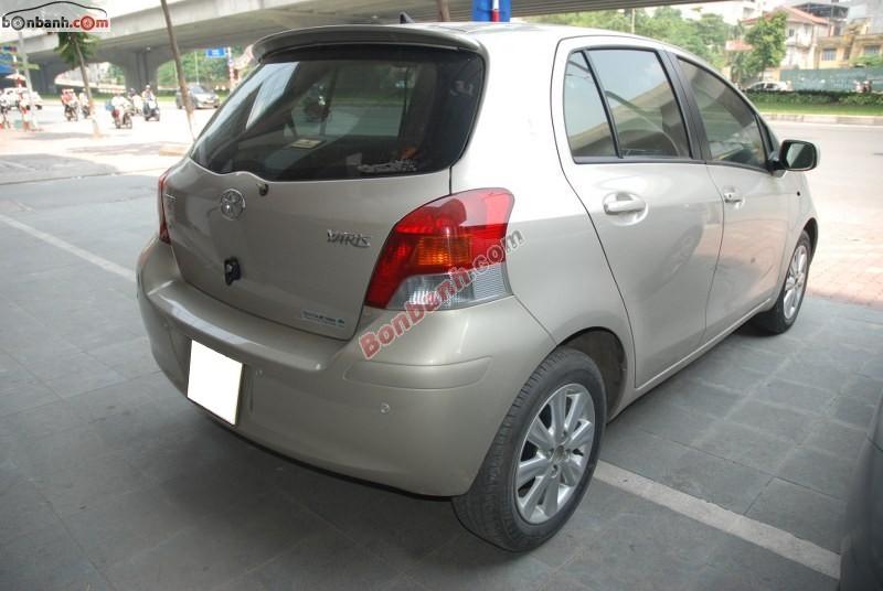 Xe Toyota Yaris Bán     cũ tại Hà Nội 2011