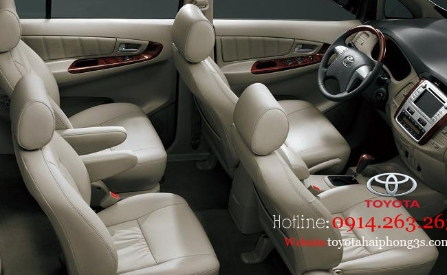 Xe Toyota Innova Bán     mới tại Thái Bình 2014