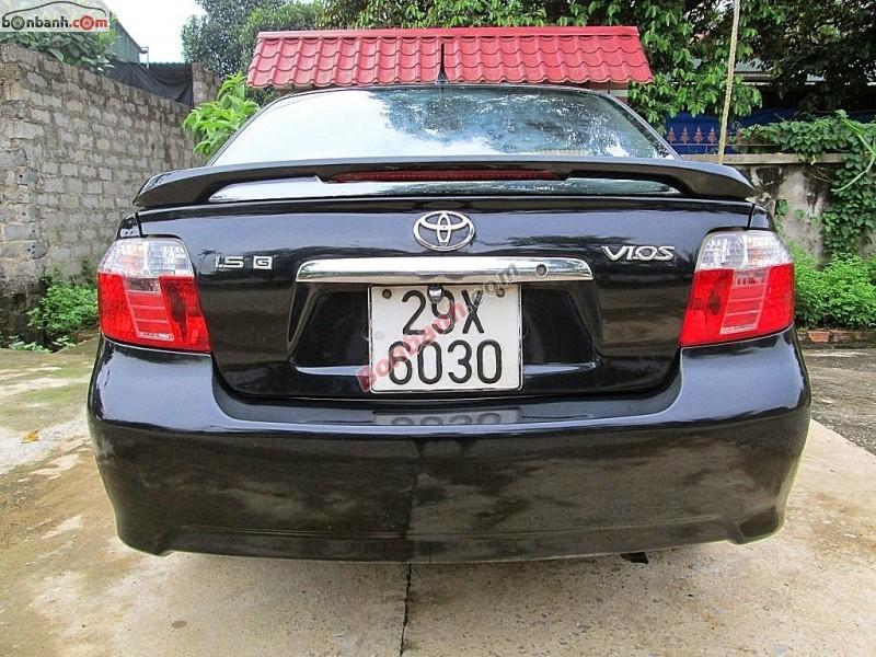 Xe Toyota Vios Bán    1.5 G  cũ tại Hà Nội 2005