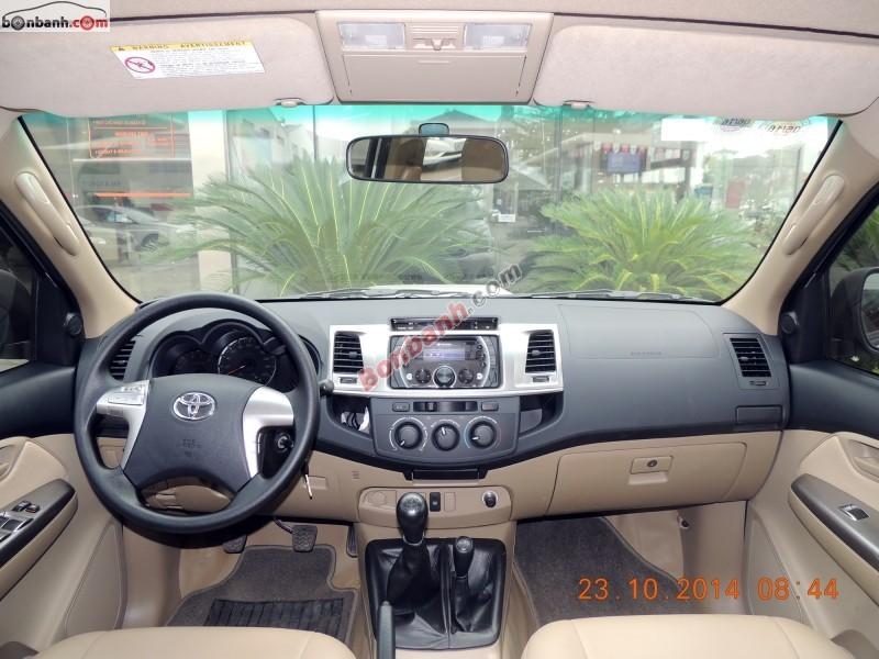 Xe Toyota Hilux Bán    G  cũ tại Hà Nội 2014