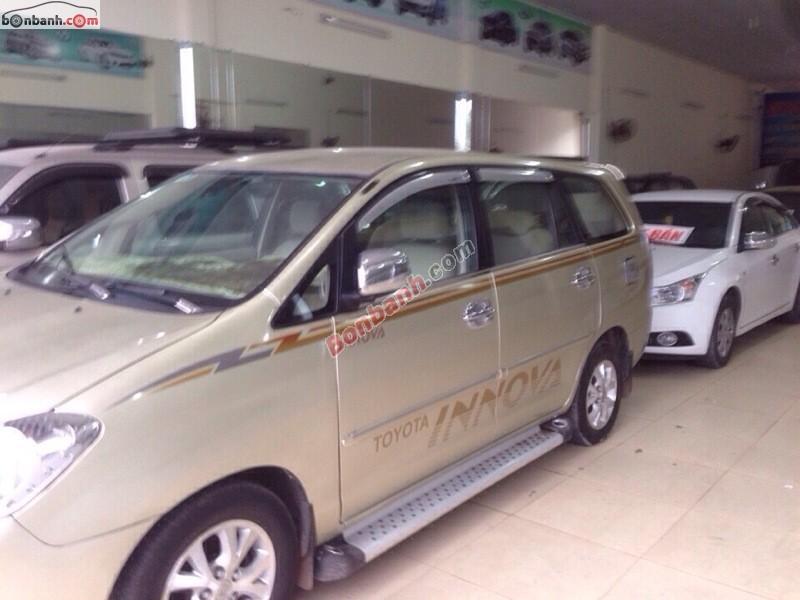 Xe Toyota Innova Bán    2.0G  cũ tại Đồng Nai 2006