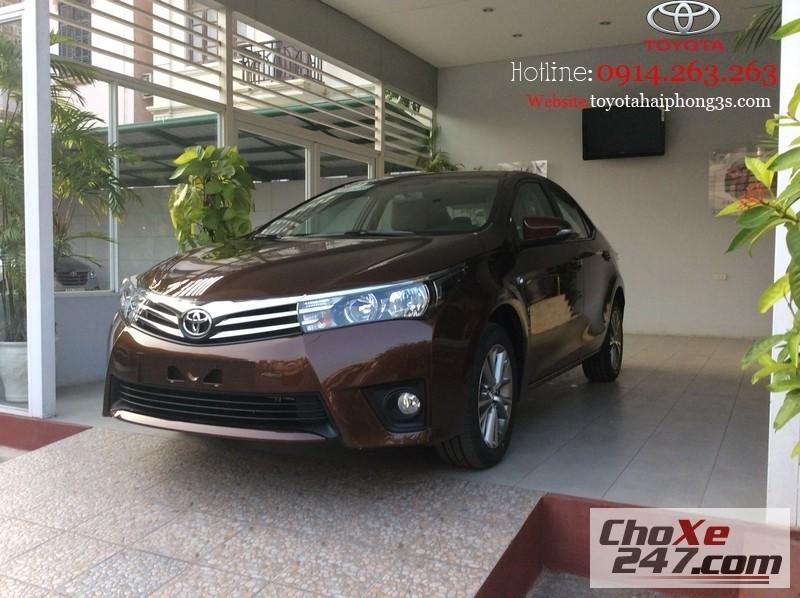Xe Toyota Corolla altis Với Diện Mạo Cá Tính Hoàn Toàn MớiHotline 0914.263.263 2015