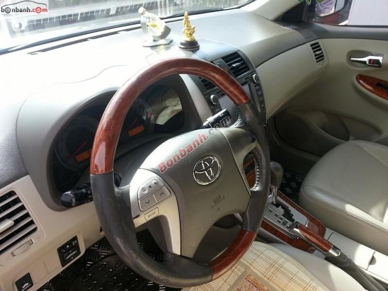 Xe Toyota Corolla altis Bán    1.8 AT  cũ tại Bình Phước 2009