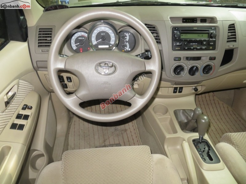 Xe Toyota Fortuner Bán    SR5  cũ tại Hà Nội 2008