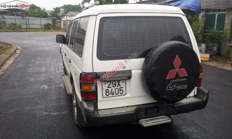 Xe Mitsubishi Pajero Bán     cũ tại Hà Nội 1997