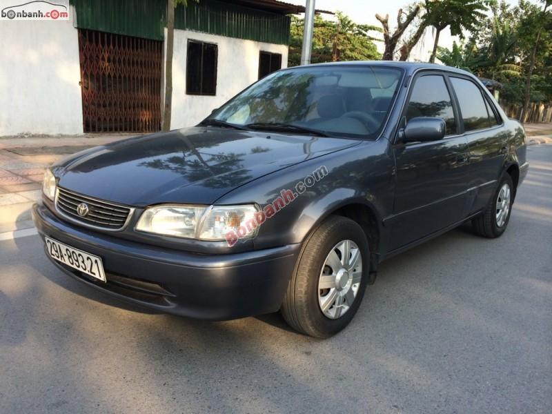 Xe Toyota Corolla Bán    GLi 1.6  cũ tại Hà Nội 1998
