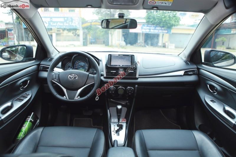 Xe Toyota Vios Bán    1.5G  mới tại TP HCM 2015