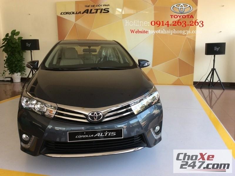 Xe Toyota Corolla altis - Mượt Mà Trong Từng Chuyển Động.Tại  Hải Phòng 2015