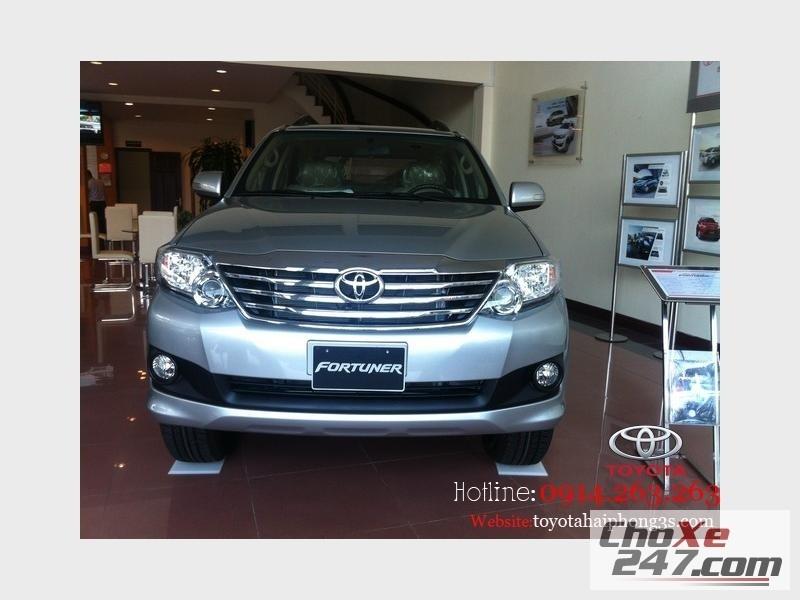 Xe Toyota Fortuner thế hệ mới nhất ! Giá hấp dẫn nhất tại  Hải Phòng 2014