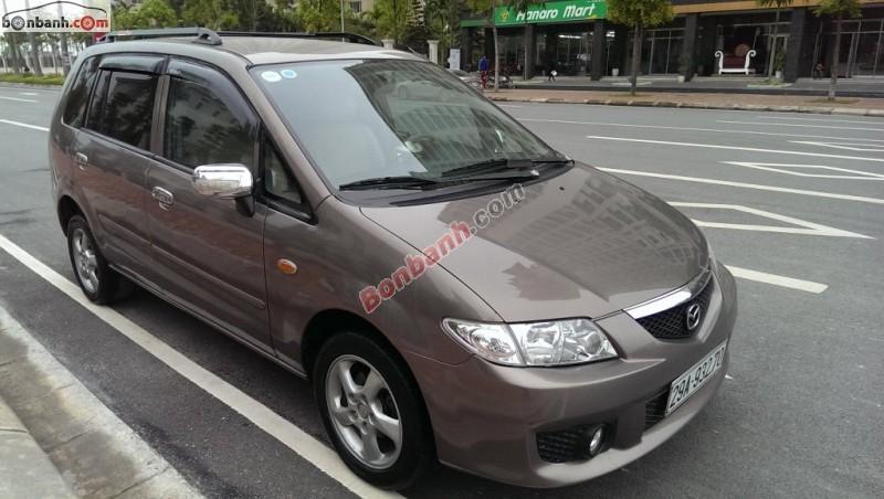 Xe Mazda Premacy Bán    AT  cũ tại Hà Nội 2004