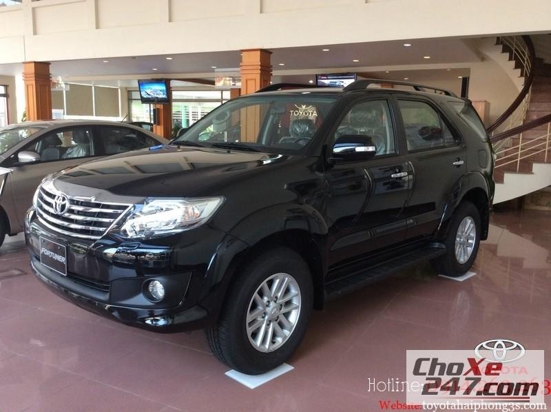 Xe Toyota Fortuner Hải Phòng báo giá  2014 tốt nhất,giá hấp dẫn Hotline 0914.263.263