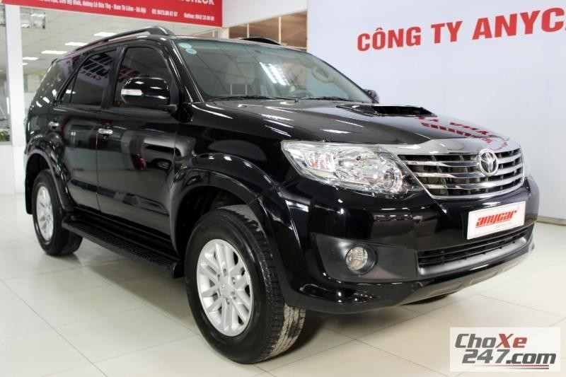 Xe Toyota Fortuner G 2.5MT 2013