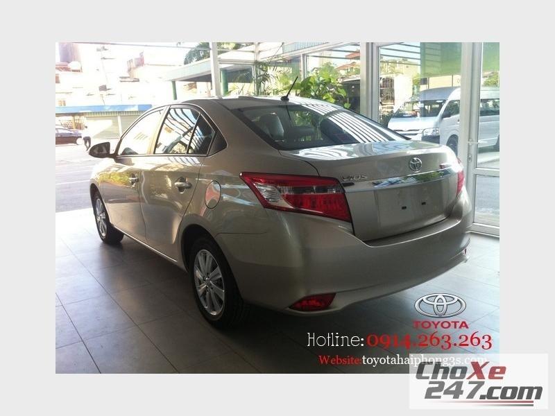 Xe Toyota Vios Sành điệu mọi góc nhìn.Hotline 0914.263.263 2014
