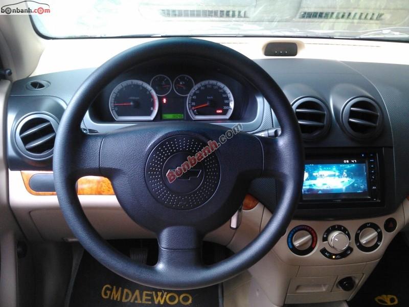 Xe Chevrolet Aveo Bán    LT  cũ tại TP HCM 2011