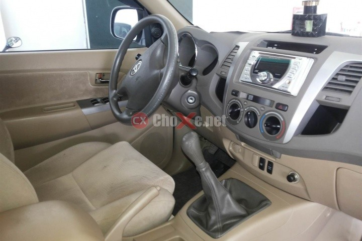 Xe Toyota Fortuner G 2.5MT 2010
