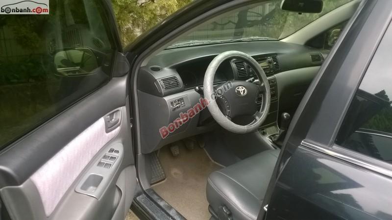 Xe Toyota Corolla altis 1.8G 2007