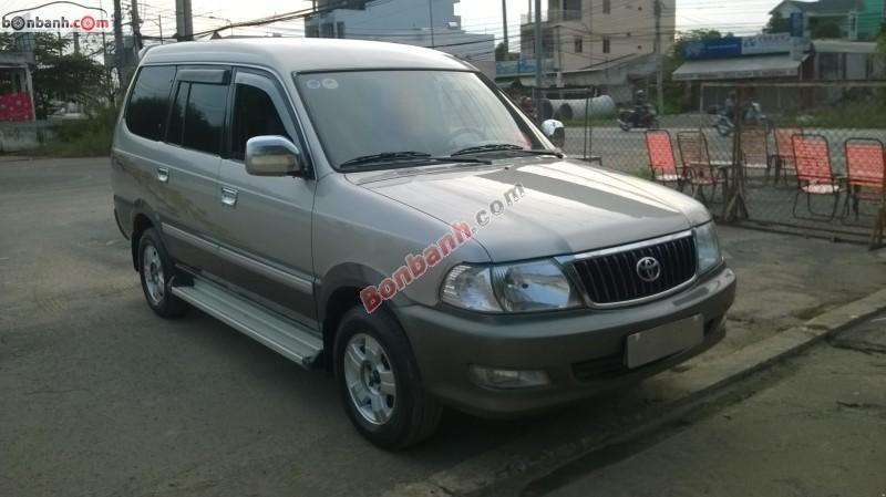 Xe Toyota Zace GL 2003
