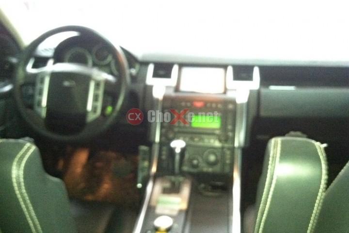 Xe LandRover Range rover SPoRT superchae 2009