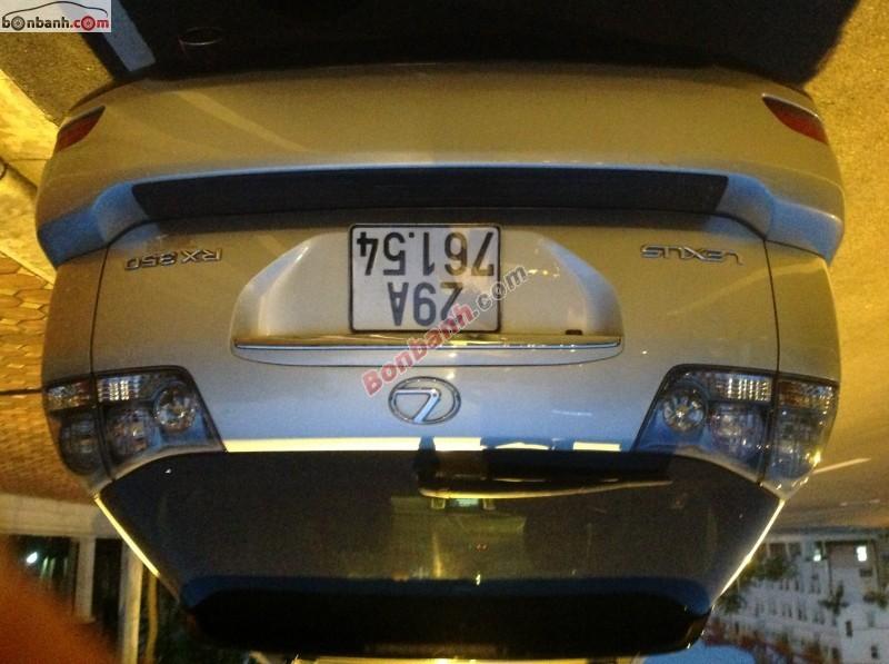 Xe Lexus RX  2007