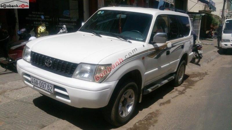 Xe Toyota Prado 2.8L MT 1996