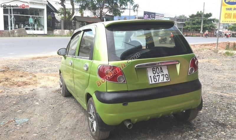 Xe Daewoo Matiz  2007