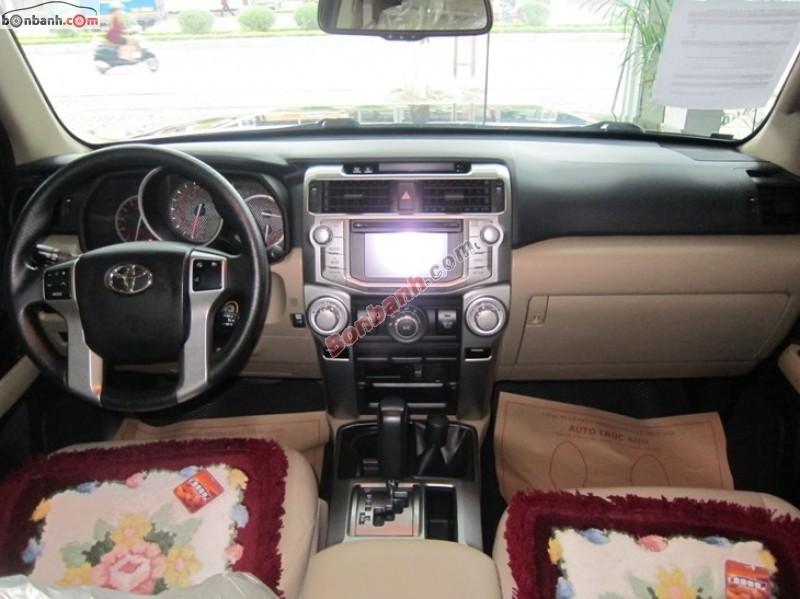 Xe Toyota 4 Runner SR5 2012
